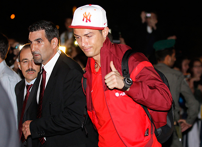Cristiano Ronaldo Arrives in Israel!