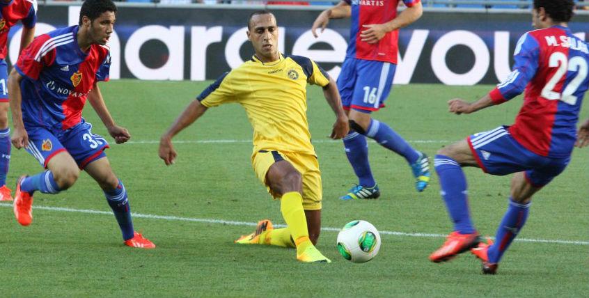 Mahran Radi-Courtesy Maccabi Tel Aviv Website