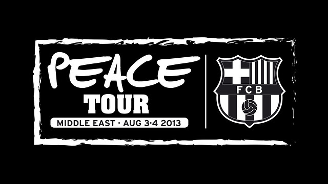 Was Barcelona's visit really a Peace Tour?