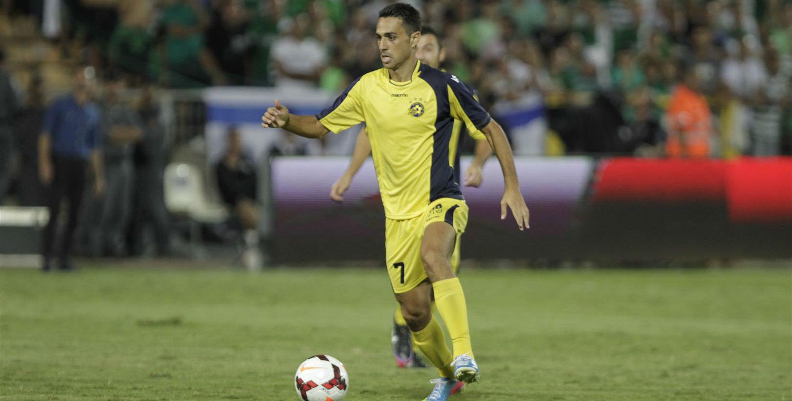 Eran Zehavi! Courtesy Maccabi Tel Aviv website