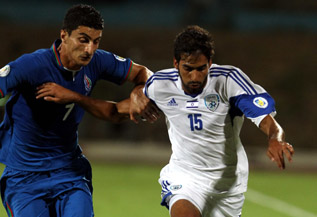 The Good! Ofir Davidzada makes his debut for the Sr. squad!-Israel Football Association Website