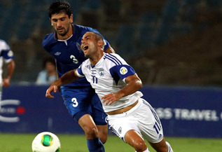 Itay Schecter scored the tying goal! Israel Football Association Website