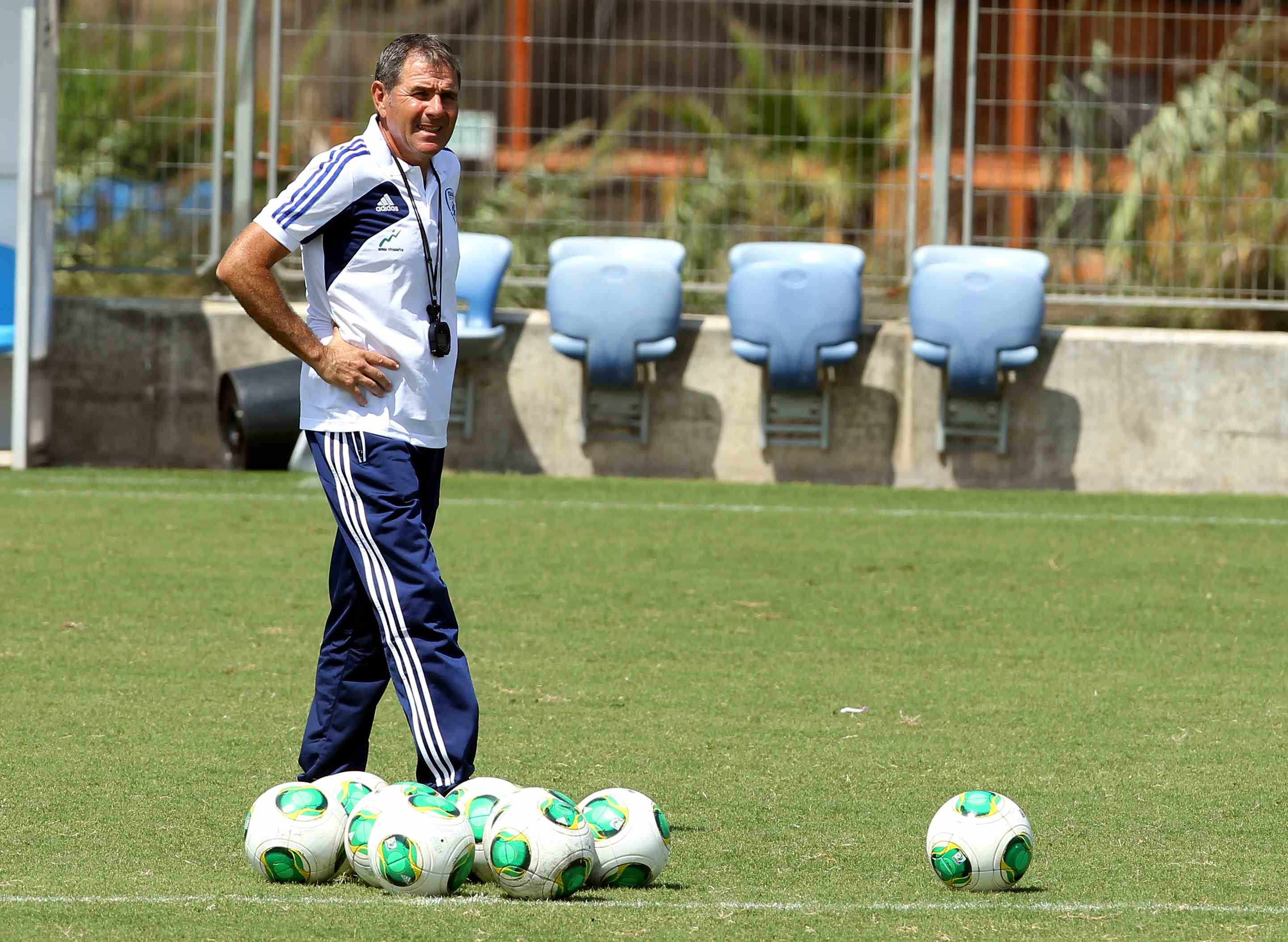 Coach Eli Gutman has his work cutout for him-Israel Football Association Website