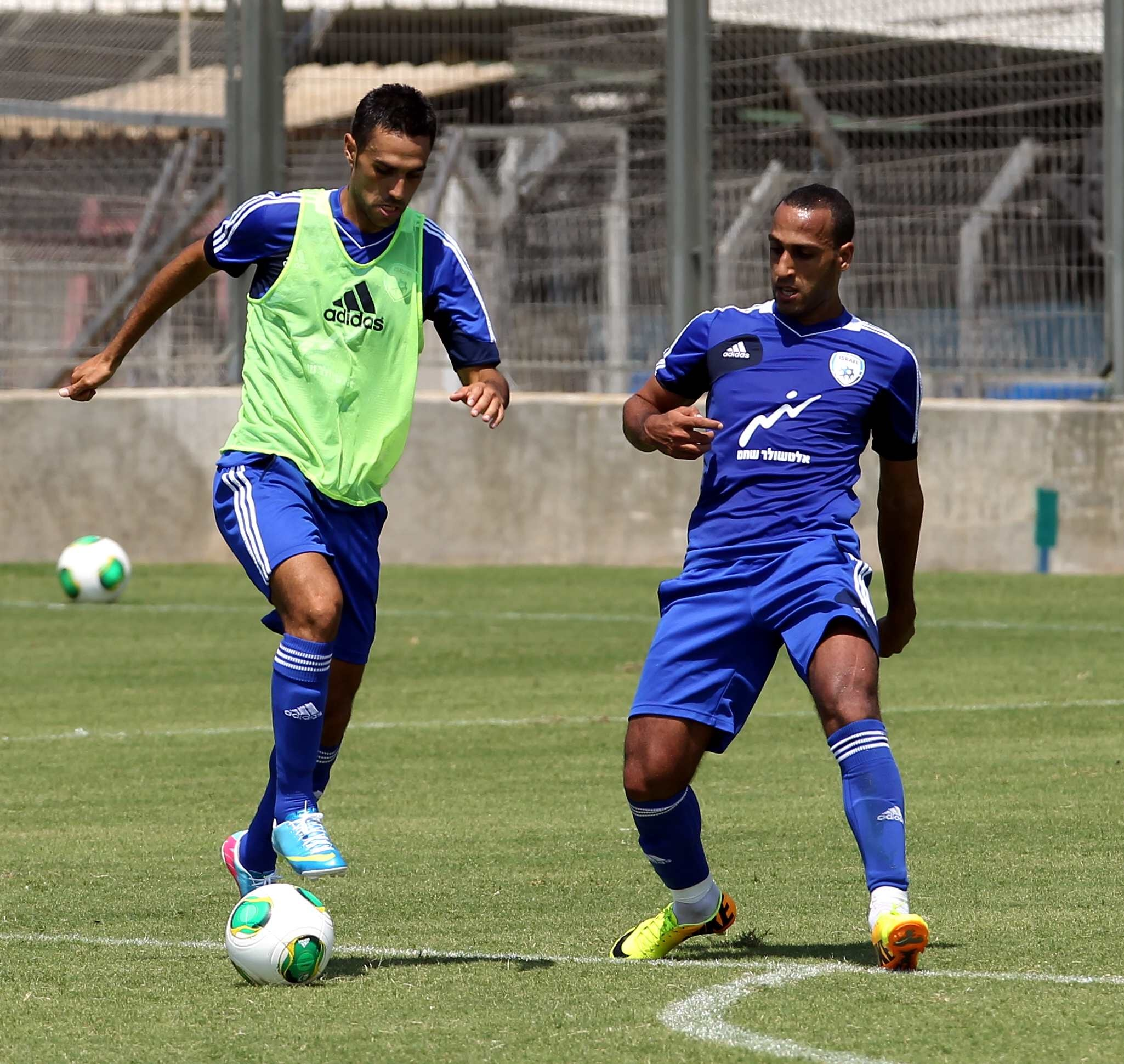 Eran Zehavi & Mahran Radi-Israel Football Association Website