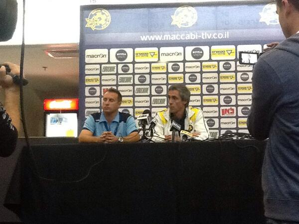 Maccabi Tel Aviv coach Paulo Sousa!