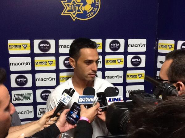 Eran Zehavi after his two goal performance!