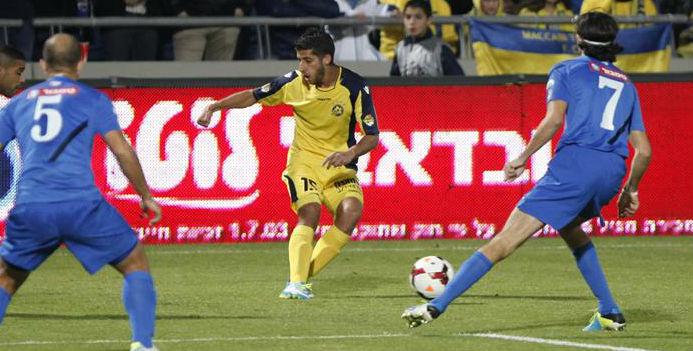 Dor Micah in action! Courtesy Maccabi Tel Aviv website
