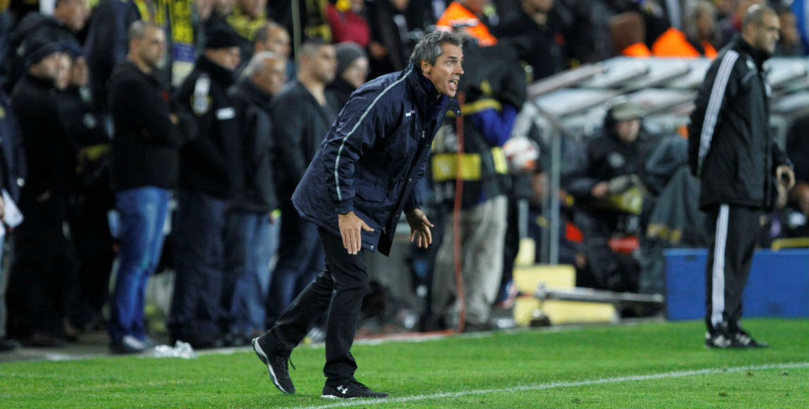 Maccabi coach Paulo Sousa-Courtesy Maccabi Tel Aviv website