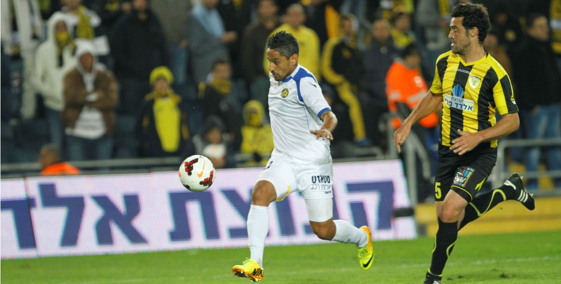 Barack Yitzhaki in action-Courtesy Maccabi Tel Aviv website