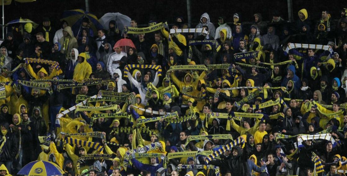 Maccabi Tel Aviv fans-Maccabi Tel Aviv website