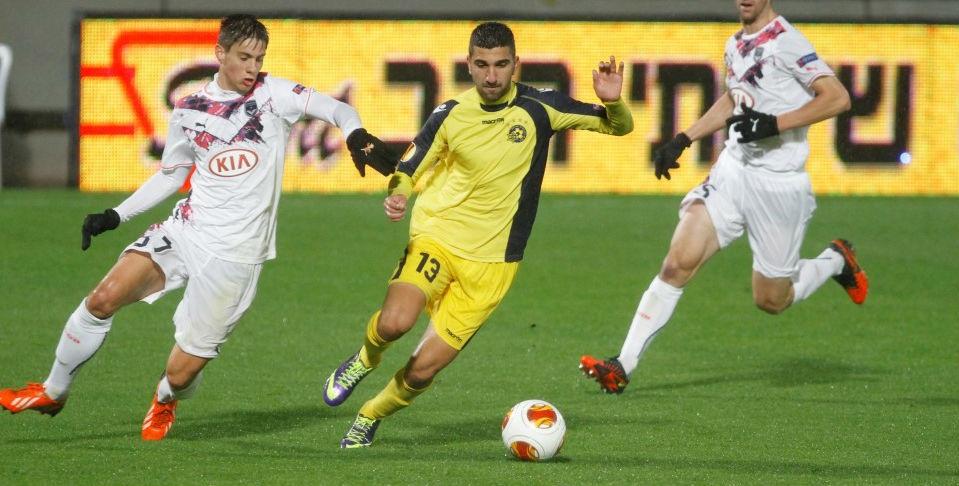 Monas Dabour-Maccabi Tel Aviv website