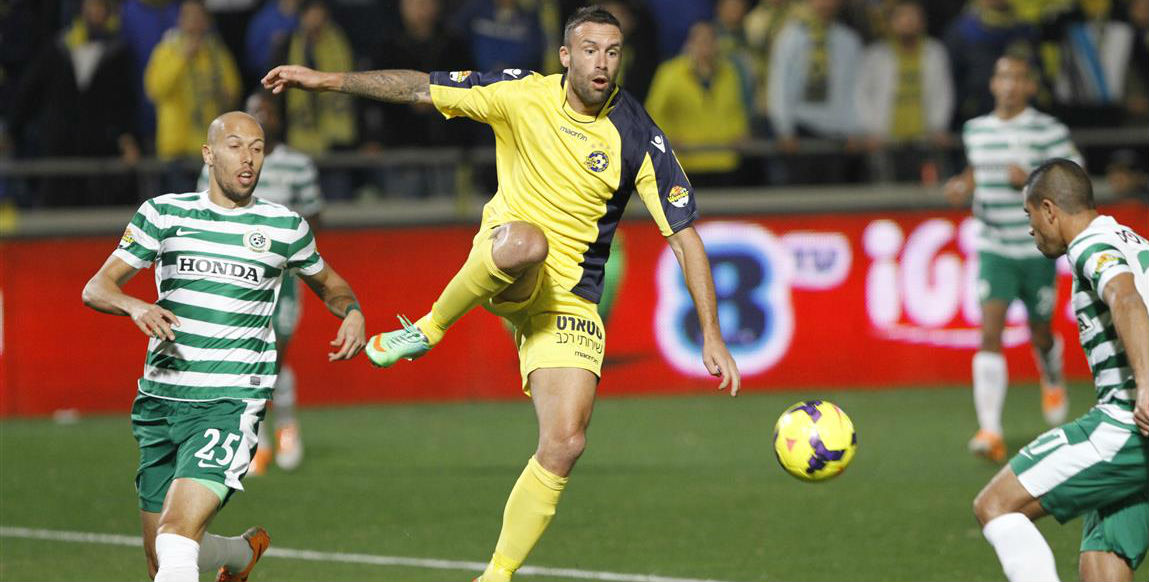 Rada Prica in action! Courtesy Maccabi Tel Aviv website