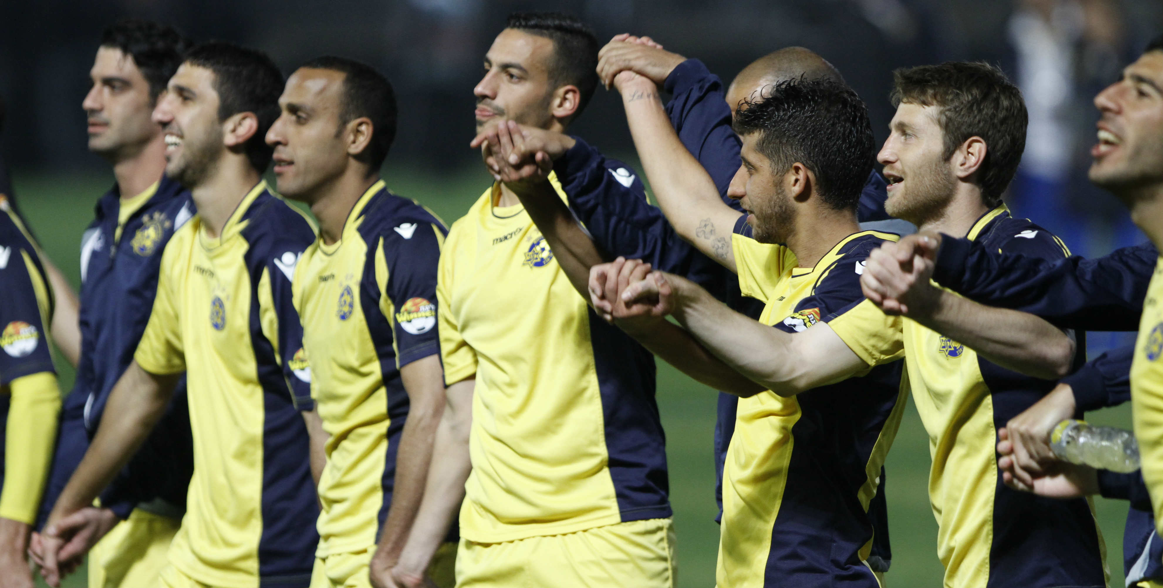 Courtesy Maccabi Tel Aviv website