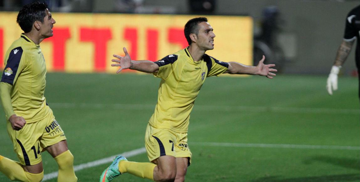 Eran Zahavi Scores a Hat Trick! Courtesy Maccabi Tel Aviv Website
