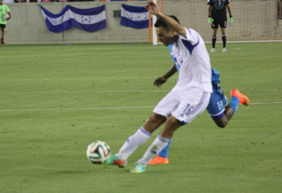 Eran Zahavi in action-Courtesy Israel Football Association