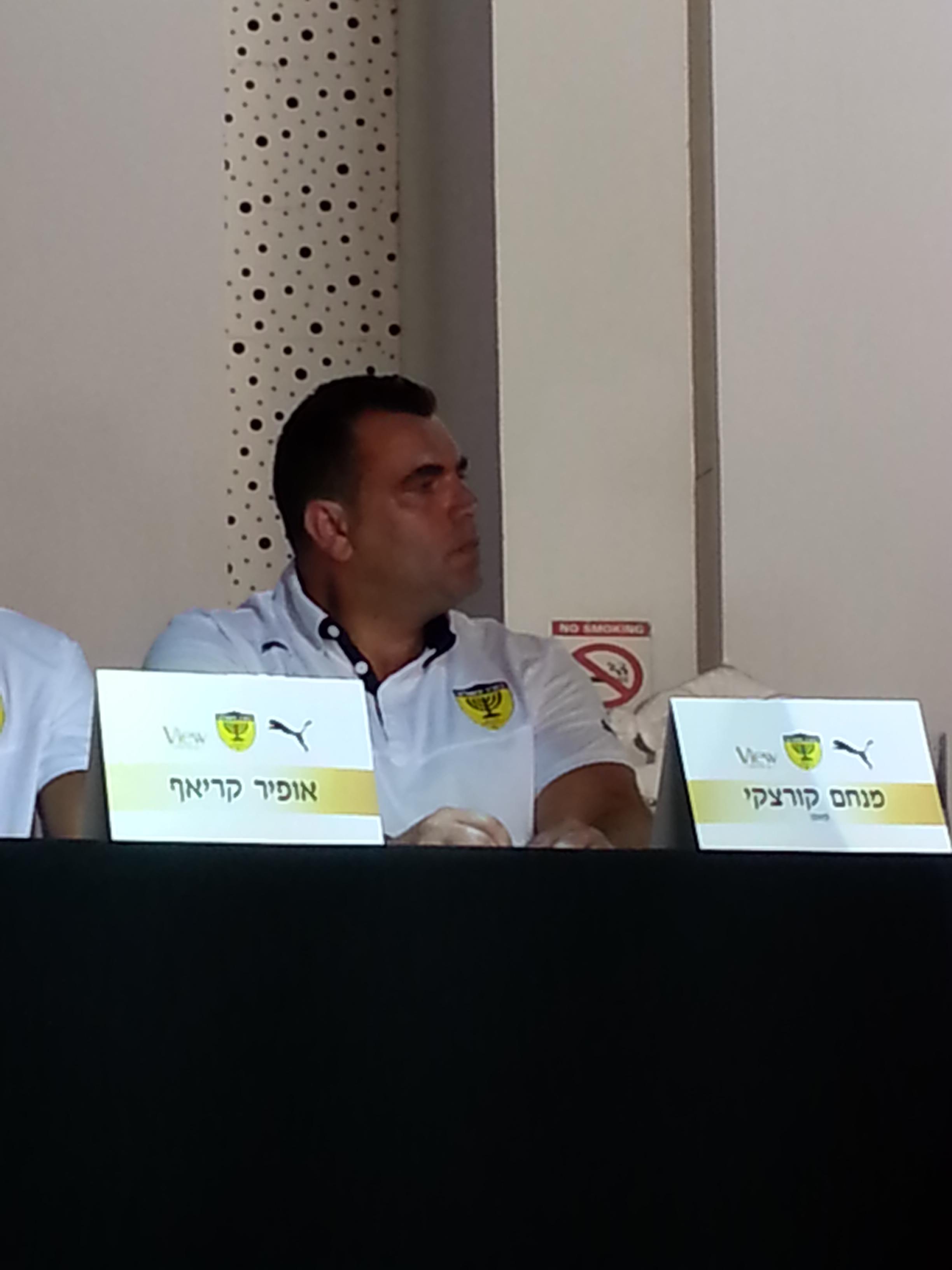 Menachem Koretzky, Beitar Jerusalem's new coach