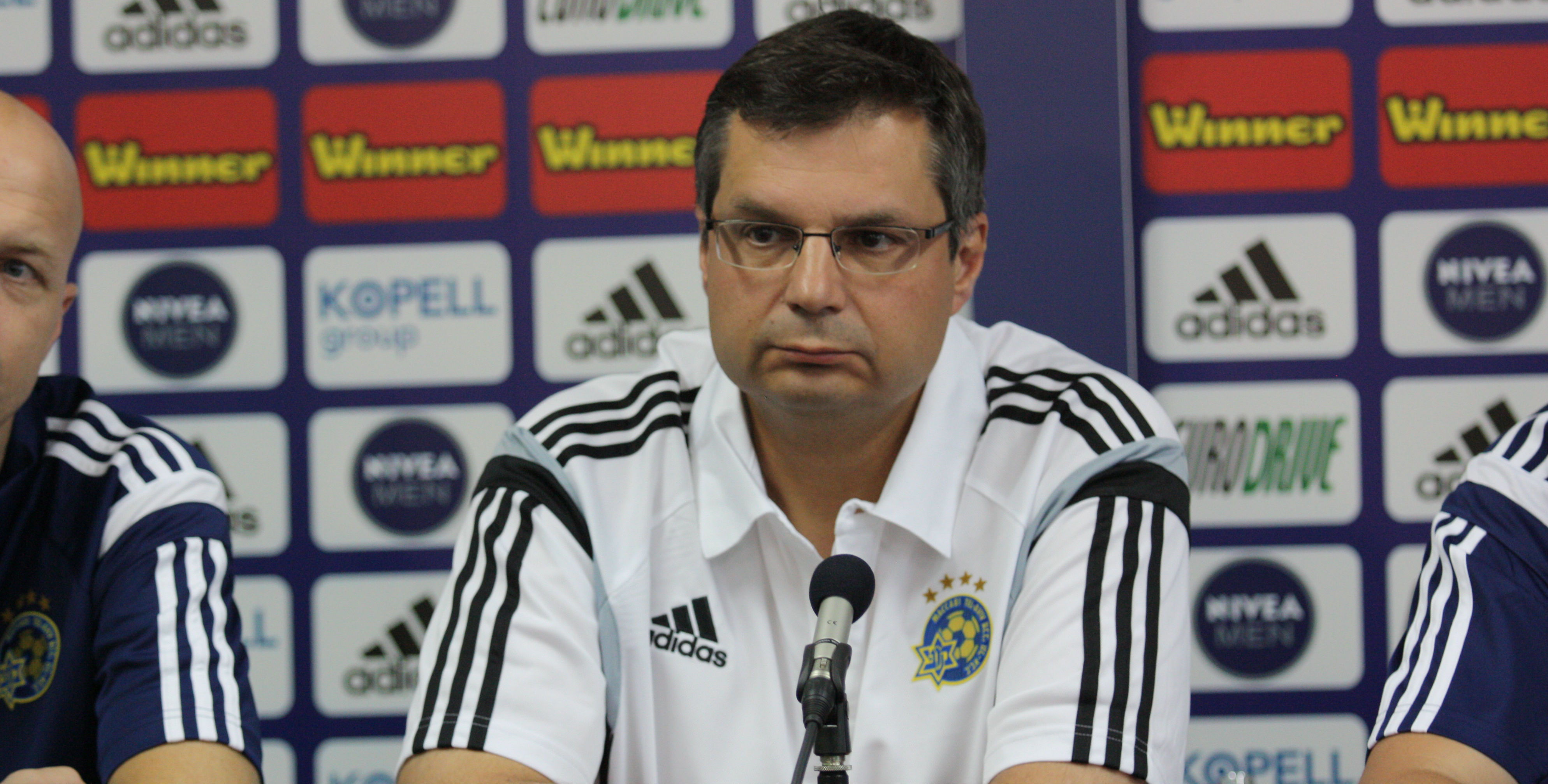 Jack Angelides-Courtesy Maccabi Tel Aviv Website