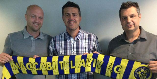 Jordi, Oscar & Jack-Courtesy Maccabi Tel Aviv Website