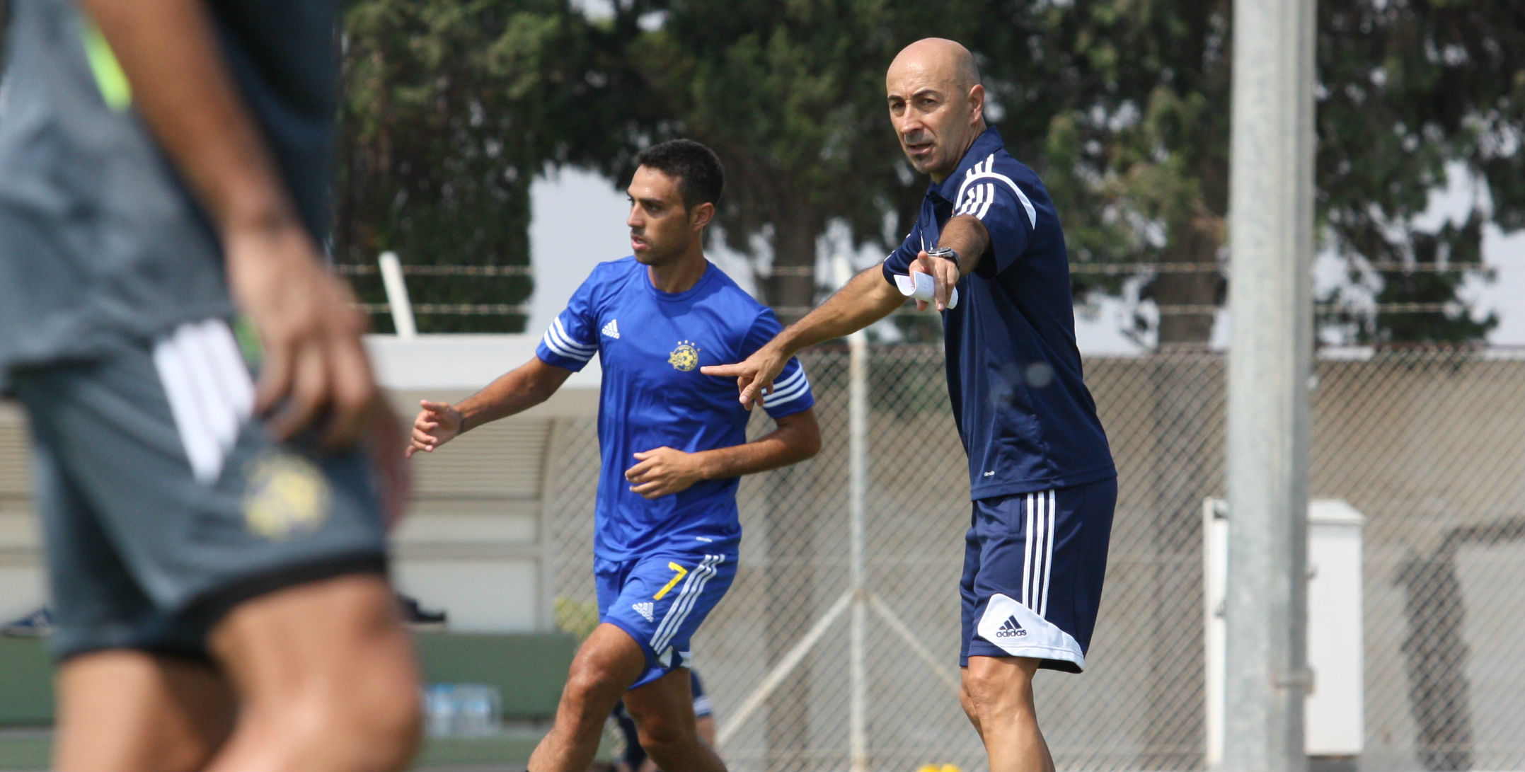 Pako Ayestaran-Courtesy Maccabi Tel Aviv Website
