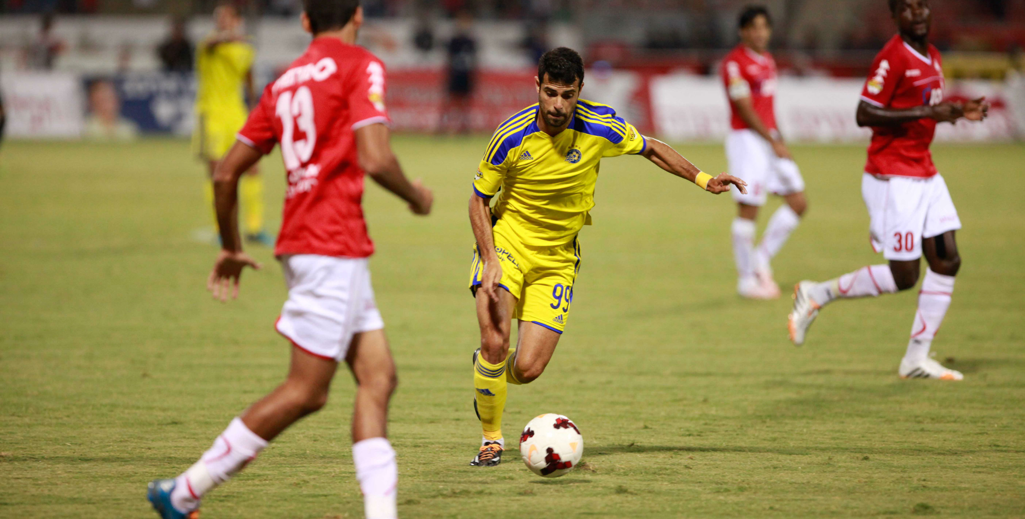 Eden Ben Basat in action-Courtesy Maccabi Tel Aviv  Website