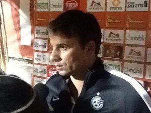 Maccabi Haifa coach Aleksander Stanoyvich