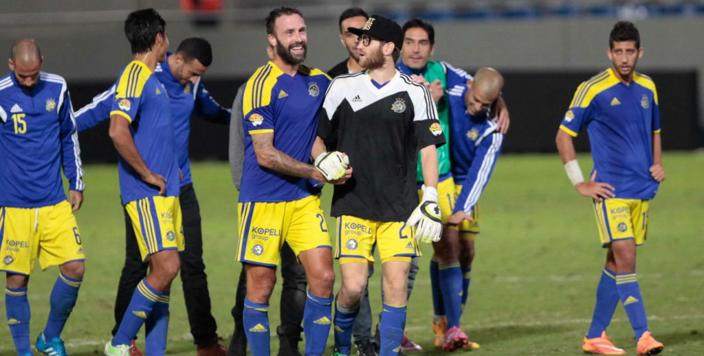 Geek Sheran Yeini-Courtesy Maccabi Tel Aviv website