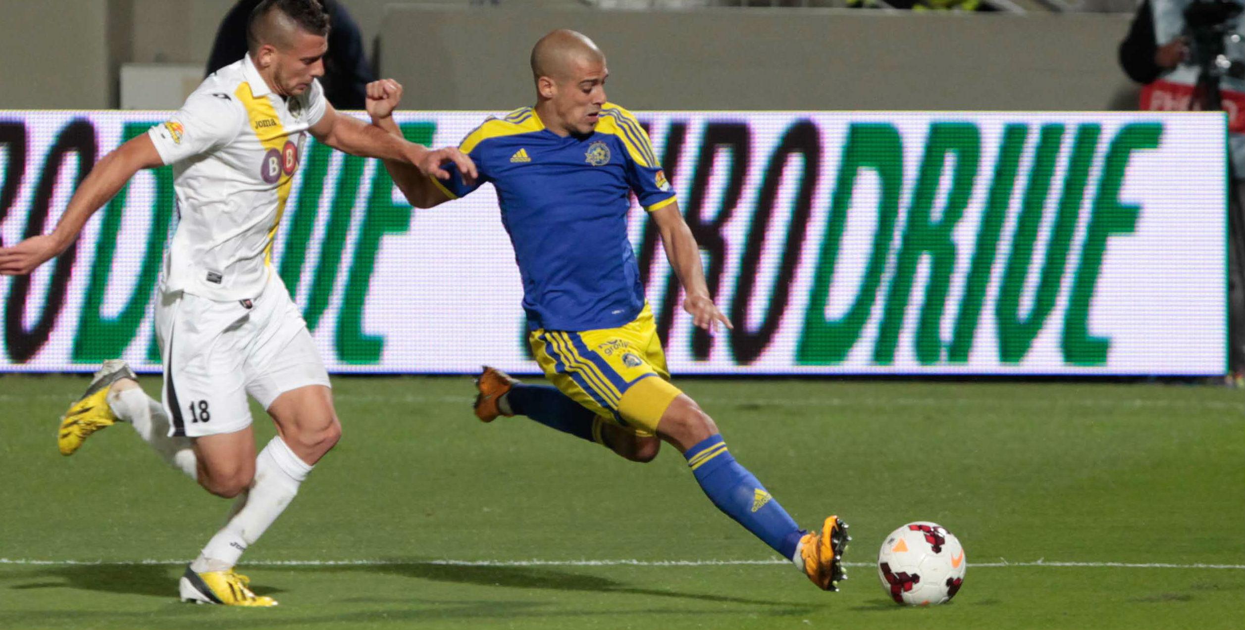 Tal Ben Chaim in action! Courtesy Maccabi Tel Aviv website