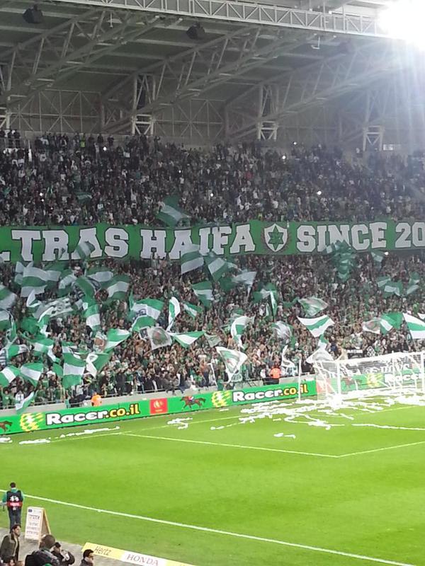 Maccabi Haifa supporters