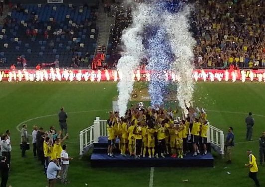 The Trouble with Trebles-Maccabi Tel Aviv State Cup Champs!
