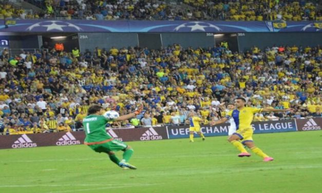Maccabi falls to Kyiv 2:0 on Matchday Two