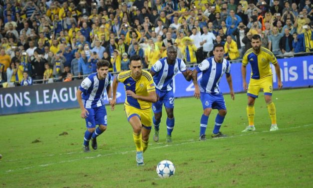 Zahavi scores Maccabi's first, still look for points