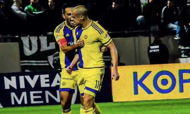 Maccabi Tel Aviv downs Haifa 2:1