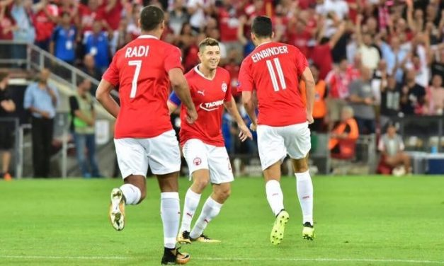 Beer Sheva wins, Maccabi loses in Europa League play