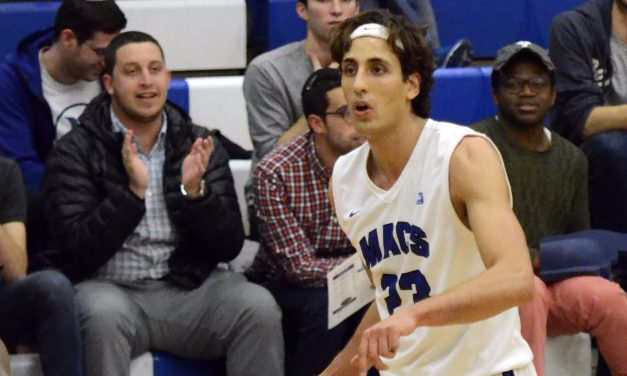 Champion: Israeli Bar Alluf helps guide Macs to first ever NCAA Tourney Berth