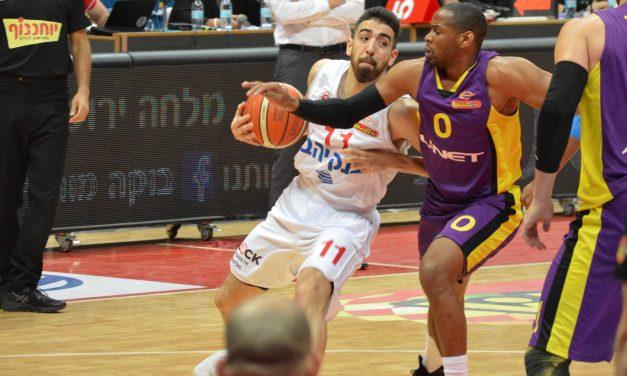 Howell & Roberts talk Oded Katash after Jersusalem defeats Holon 82-75