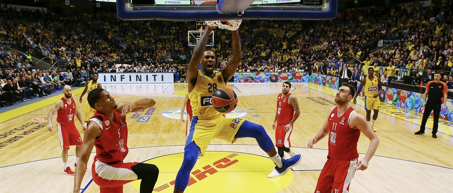 """""""That's why we love our job"""" – Maccabi sinks Olympiacos 65-64"""