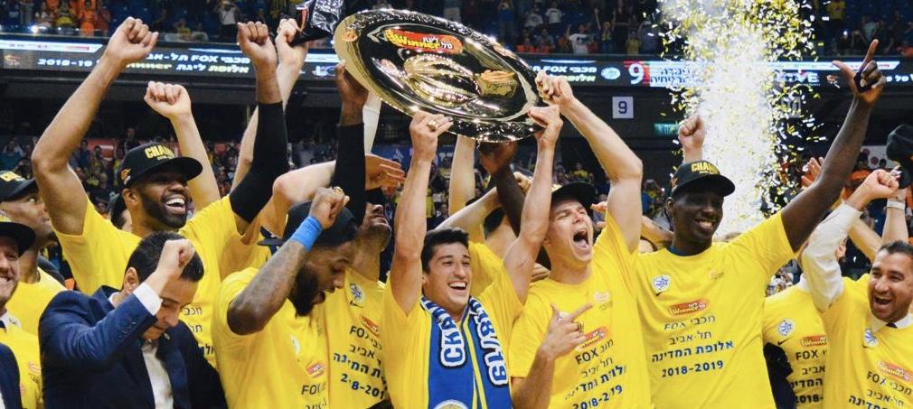 Maccabi Tel Aviv captures the Israel Basketball Winner League Championship! Defeat Rishon Le'Zion 89-75