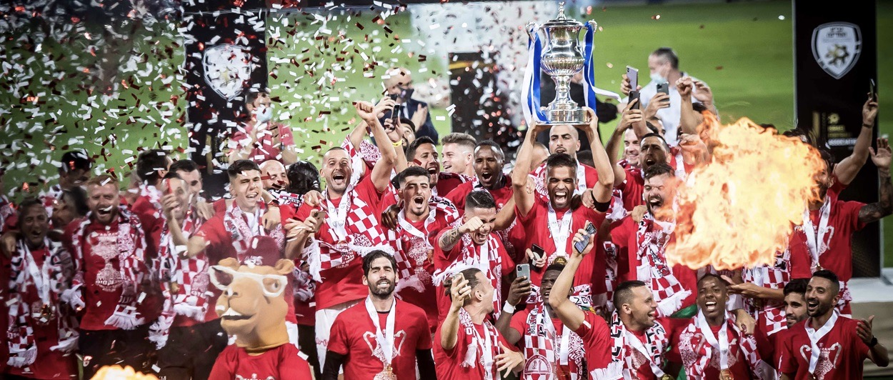 Hapoel Beer Sheva wins the Israel State Cup with 2-0 victory over Maccabi Petah Tikva