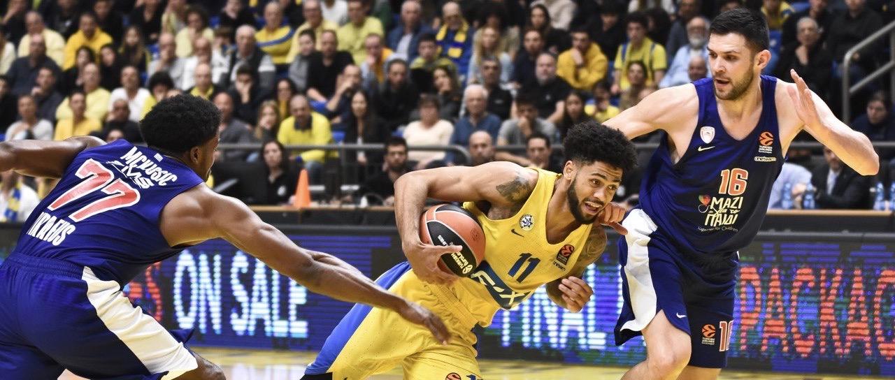 בין כדורסל, טרגדיה וקומדיה: מכבי תל אביב תתמודד הערב ביוון במשחק חשוב מול אולימפיאקוס