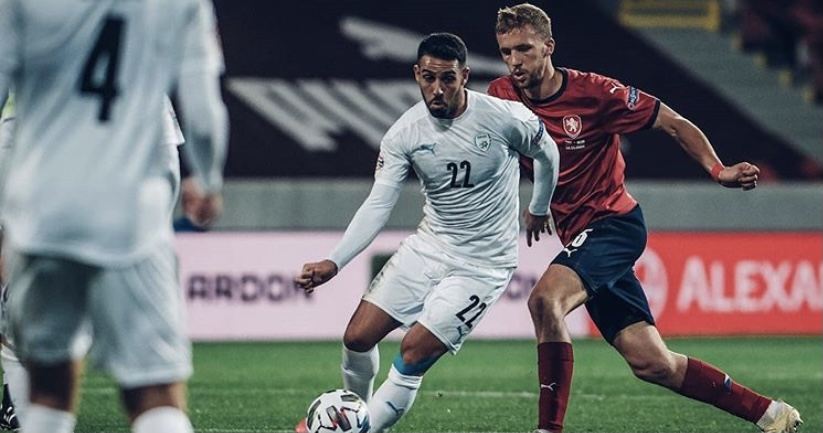 Israel falls 1-0 to the Czech Republic after early goal does in Blue & White