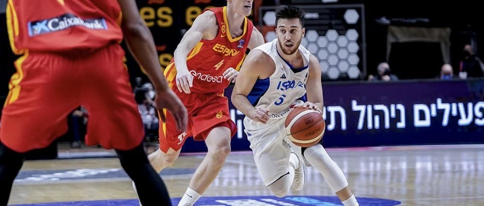 Israel stuns Spain 95-87 with frantic second half comeback! Blue & White top EuroBasket Qualifying Group A