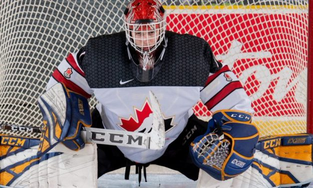 Jewish community eyes Devon Levi as goalie makes impact for Canada at the World Juniors