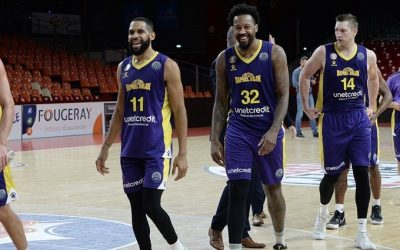 Having fun and winning too: Holon punches ticket to Champions League Playoff Round with 89-71 win over Cholet