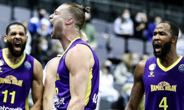 Second chance: Holon looks to advance in Champions League play for first time