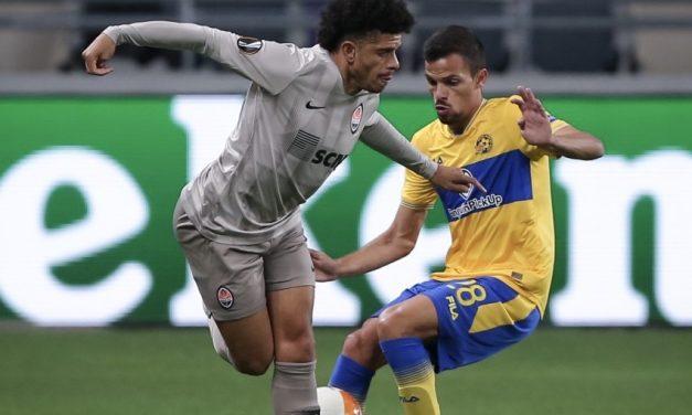 Maccabi falls to Shakhtar 2-0: Solomon, Dabbur, Zahavi and Refaelov all with busy games