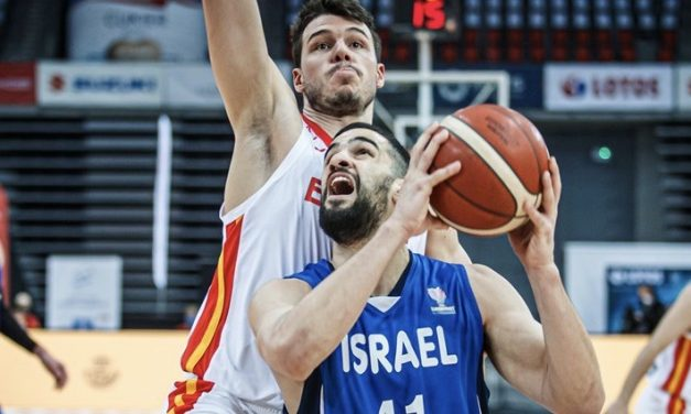 Israel drops Eurobasket qualification finale 78-73 but top group with 5-1 record