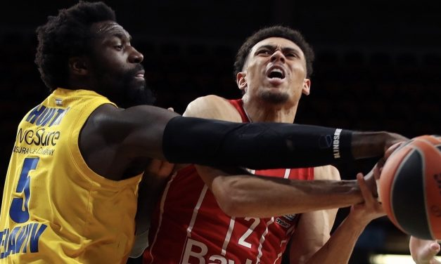 Maccabi comes up short at Bayern 72-70 effectively ending Euroleague playoff hopes