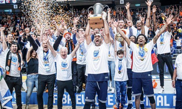 Nes Ziona wins the FIBA Europe Cup!