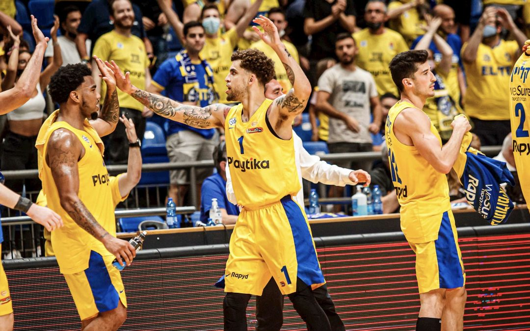 Maccabi Tel Aviv tops Hapoel Haifa 85-76