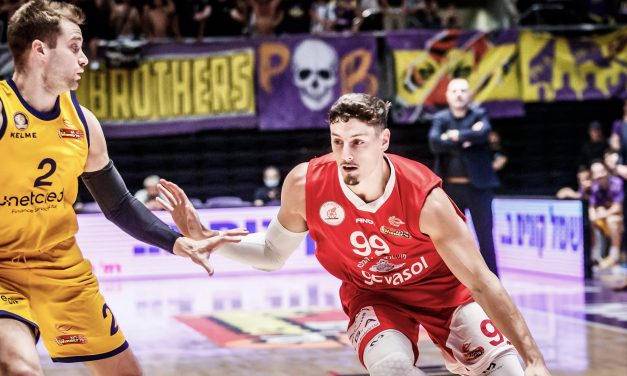 Hapoel Gilboa Galil takes dramatic 74-72 win over host Holon in Israel Basketball Semifinal action